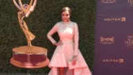 Reign Edwards at the 44th Annual Daytime Emmy Awards at Pasadena Civic Auditorium on April 30 2017 in Pasadena California