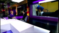 BMA rejects government pension reforms ENGLAND London GIR INT Dr Tom Dolphin LIVE STUDIO interview SOT