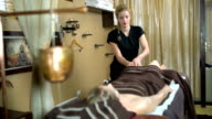 Relax massage in oriental ambiance