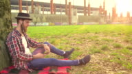 Relaxing at Park