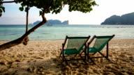 Relaxing in Beach