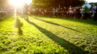 Relay Race in to the Sun