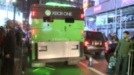 Release Of the Xbox One at the Best Buy in Time Square Armored Truck Carrying Xbox One on November 21 2013 in New York New York