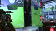 Release Of the Xbox One at the Best Buy in Time Square Xbox One Armored Truck Opening Up on November 21 2013 in New York New York