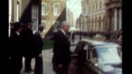 Released secret papers reveal tensions in late 1970s Labour government 1979 London EXT **Music overlaid SOT** James Callaghan leaving Number 10...