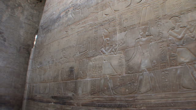 MS PAN Reliefs of Egyptian life at Luxor temple, Luxor, Egypt