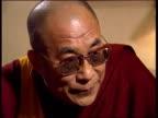 Dalai Lama in London CF TAPE NO LONGER AVAILABLE ENGLAND London No 10 Downing Street MS John Major PM with Dalai Lama and Dr George Carey as Dalai...