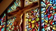 Religious Cross and Jesus