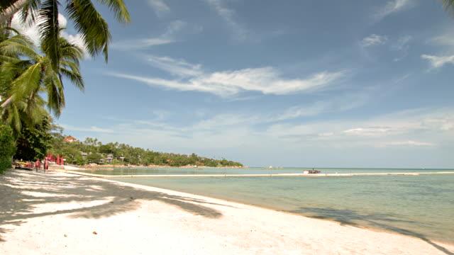 Abgeschiedene Strand