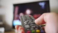 Remote control to transform television channels
