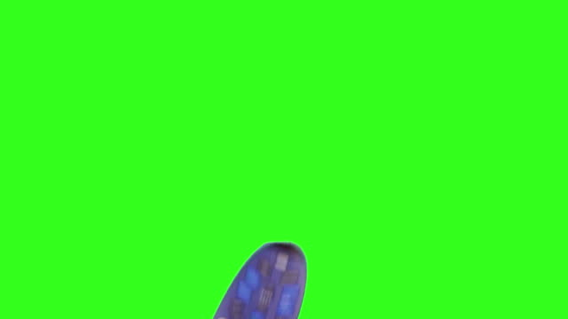 TV Remote green screen- four shots. HD