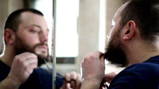 Removing facial hair