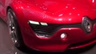 Renault DeZir Concept Geneva Motor Show 2011 on March 03 2011 in Geneva Switzerland