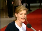 Rene Russo at the 'Air Force One' Premiere on July 21 1997
