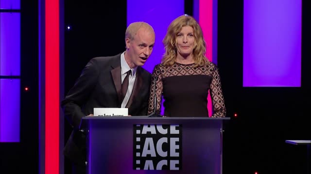 SPEECH Rene Russo Dan Gilroy at 65th Annual ACE Eddie Awards in Los Angeles CA