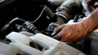 Repairing Car Engine