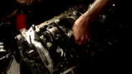 Riparazione auto motore