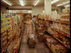 Report on supermarket prices completed GVs Customers in Tesco supermarket 3 shots LIB