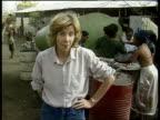 ITN Reporter Joan Thirkettle dies ETHIOPIA CMS Joan Thirkettle i/c SOT starving people