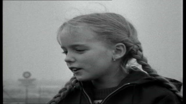 West Berlin child to be deported to East Germany WEST GERMANY West Berlin Marienfelde District EXT Angelika's Father interview SOT Angelika Kurtz...