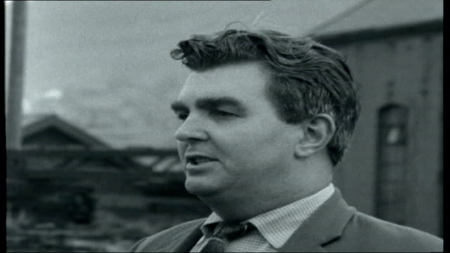 South Wales miners strike WALES Mountain Ash Duffryn Colliery EXT Roger Jones interview SOT Describes assault on him by Jack Puw Puw interview SOT...