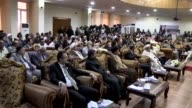 Representatives of civil society organization bureaucrats and Yazidi citizens attend an event held for 2nd anniversary of Daesh massacre on Sinjar in...