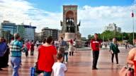 HD: Republic Monument Taksim Square Istanbul