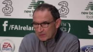 Republic of Ireland manager Martin O'Neill and striker Jonathan Walters speak ahead of their World Cup qualifier against Serbia