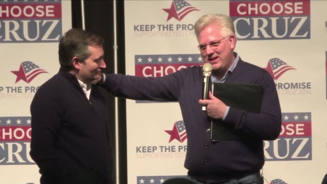 Republican presidential contender Ted Cruz on Saturday gained the endorsement of conservative broadcaster Glenn Beck