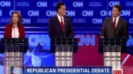 Republican presidential frontrunner Rick Perry clashed with his main rival Mitt Romney over entitlement programs on Monday as the party's White House...