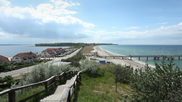 Rerik - View of the peninsula Wustrow