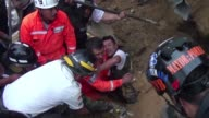 Rescuers resumed a desperate search Saturday for several hundred people believed missing in a village landslide on the outskirts of Guatemala's...