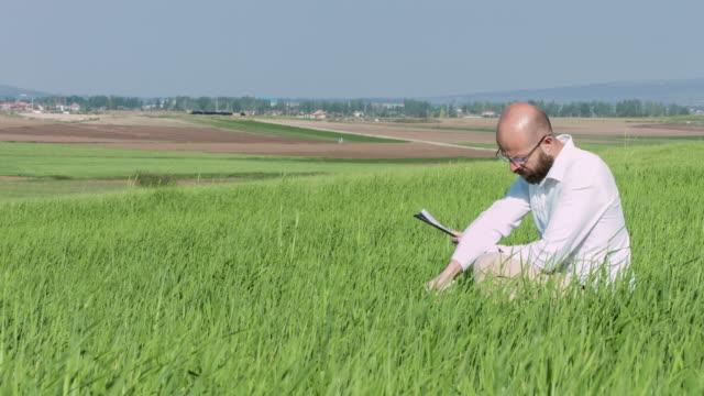 Researcher in field
