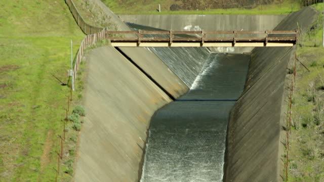 Reservoir Dam Spillway