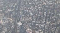 Residential area; Tokyo; aerial shots