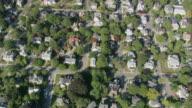 AERIAL Residential neighborhoods / Massachusetts, United States