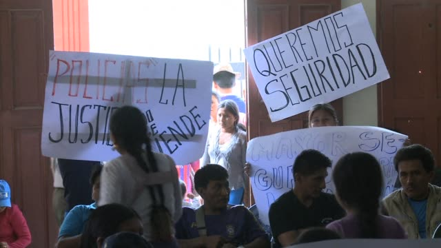 Residents of a small mountain town in Bolivia have decided to take the law into their own hands to enforce a month long dry law and curfew they hope...