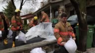 Residents of Ile Mercier south of Quebec are being evacuated from their homes on Saturday 6 2017 The province of Quebec has called in the military to...