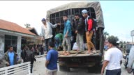 Residents were being evacuated in a village in Karo district near Mount Sinabung Mount Karo North Sumatra Indonesia on June 3 2015 The Indonesian...