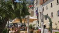 Restaurant along the Promenade, Amalfi, Costiera Amalfitana (Amalfi Coast), UNESCO World Heritage Site, Campania, Italy, Europe