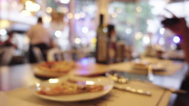 Restaurant achtergrond