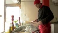 Restaurant Chef in Action