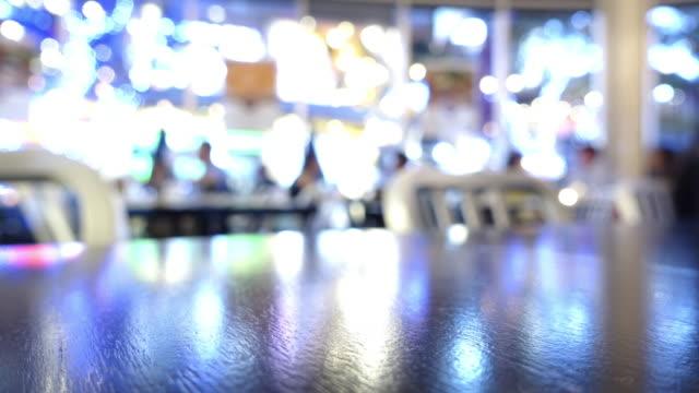 restaurant Abendessen Zeitraffer