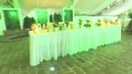 4K : Restaurant interior