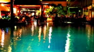 Restaurant in der Nähe des Pools