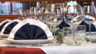 HD: Restaurant table
