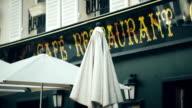 Restaurant Umbrellas in Montmartre