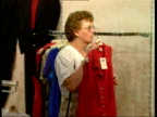 Retail sales Women looking at clothes City David Bloom intvwd Increase in retail sales worrying