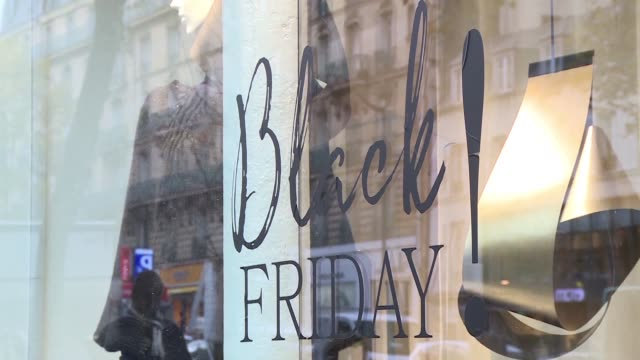 Retail stores across France have jumped on the Black Friday wagon once again the now traditional day of steep discounts in the run up to Christmas