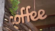 Retro Coffee Shop Sign